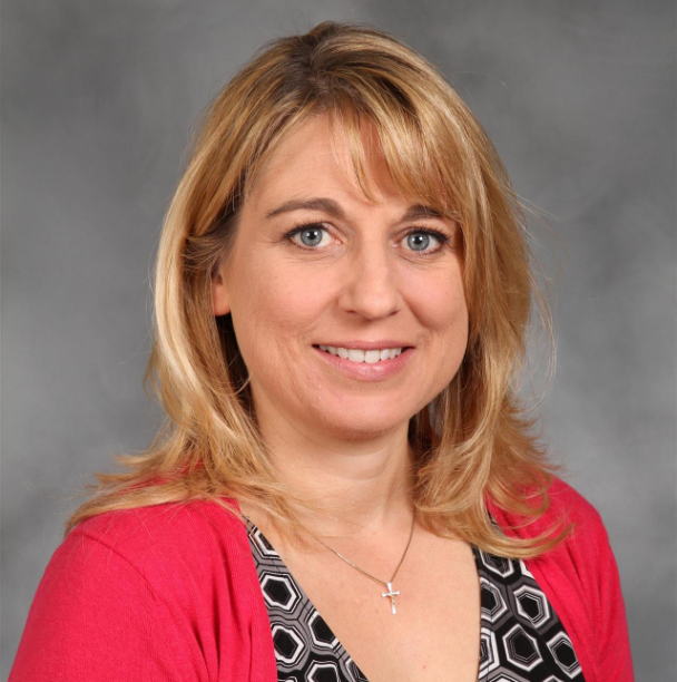 Kristi Novotny, Board Secretary, Muskegon Catholic Central