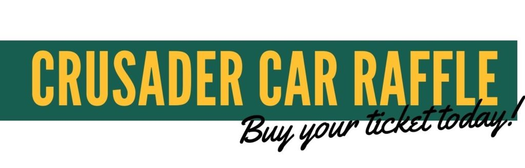 Muskegon Catholic Central - Crusader Car Raffle - Buy Your Ticket Today